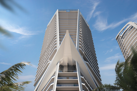 One tower of Trilogy development in Cyprus